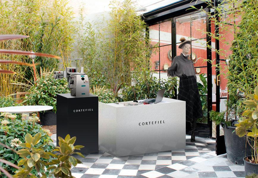 Carrusel para Cortefiel tranquilo en terraza