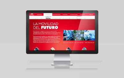 Pantalla de ordenador con la web de AVIS