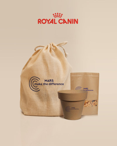 Proyecto MTD Royal Canin, Diseño de empaquetado MARS